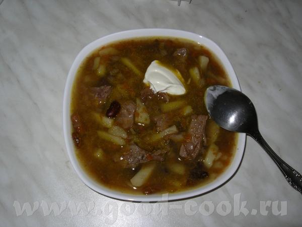 сварила фасолевый суп - ОБЪЕДЕНИЕ