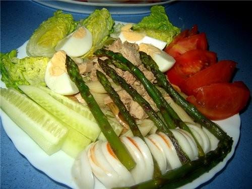 """Салат """"Прохлада"""" Самый подходящий обед в жаркую (как у нас сейчас +42) погоду"""