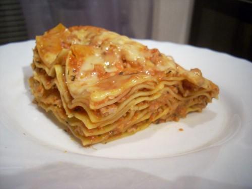 Диетическая лазанья Спагетти с сушёными помидорами и оливками - 2