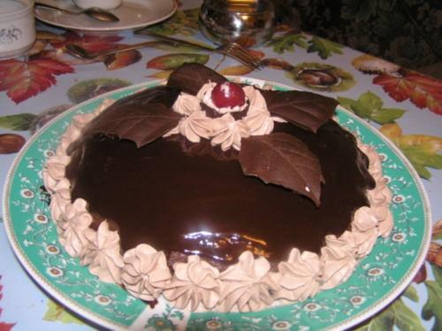 можно и мне выложить свой тортик