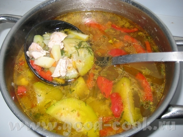 А я принесла спасибку Наташе за Немецкий кабачковый суп