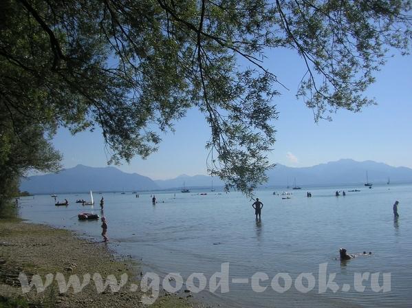 а мы сегодня купались в озере- Химзее