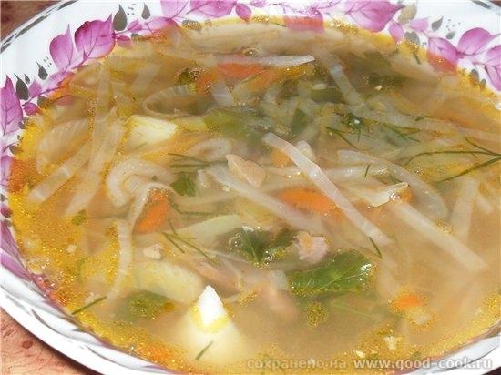 Девочки мне стыдно, но я никогда не готовила супы без зажарки, а оказывается это еще быстрее и очень вкусно