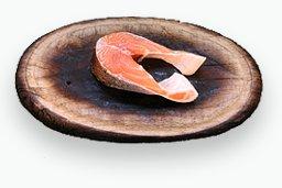 У меня нет фоточки,но все равно хочу поделиться тем как я запечаю лосось