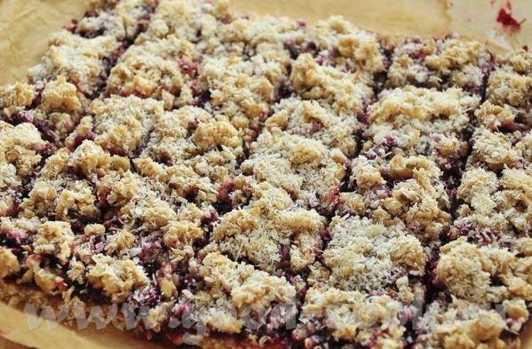 """Блюда от Alina: """"Овсяное печенье с малиновым джемом"""" печенье очень вкусное, но шибко сладкое- я бы... - 2"""