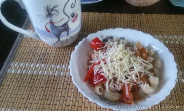 паста-лечо-сыр