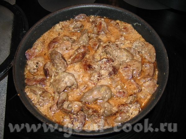 """Блюда от Зоя, """"La Dolce Vita"""": """"Печень с соусом из хереса"""" люблю я куриную печень - за нежный вкус..."""