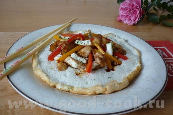 """Китайский омлет Фу Юнг готовится с использованием белков от куриных яиц, в переводе называется """"Леп..."""