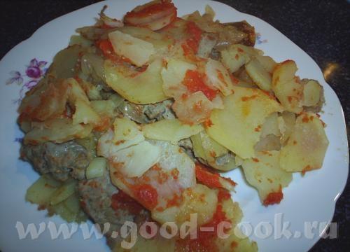 казан котлети(азербайджанская кухня)