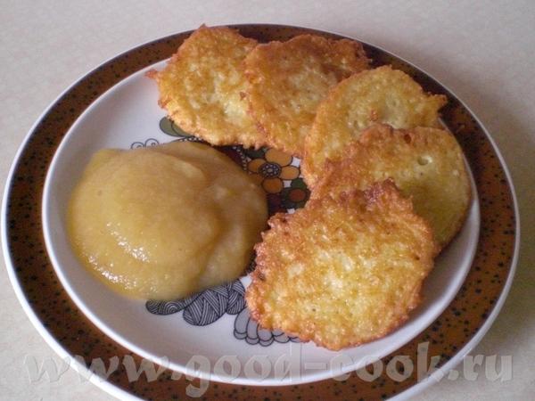 Сегодня на обед были Reiberdatschi - баварское название (Другие варианты названий – Kartoffelpuffer... - 3