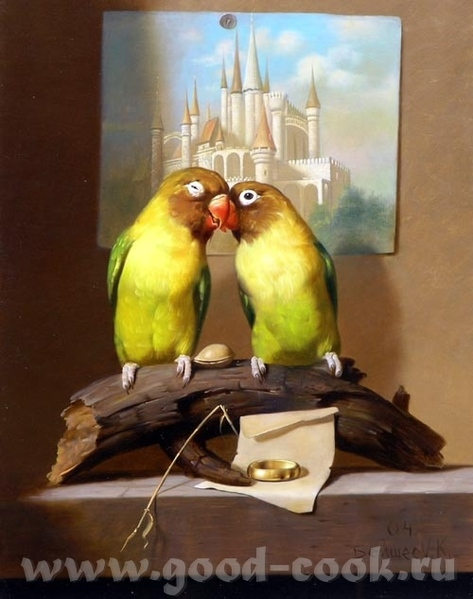 Alexander Baxter Рисует эту замечательную пару в разных ракурсах