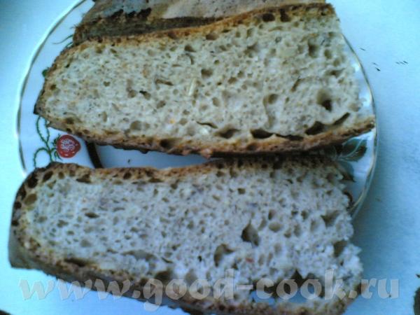 Девы, меня просто прёт похвастаться своим ржанопшеничным хлебом на закваске