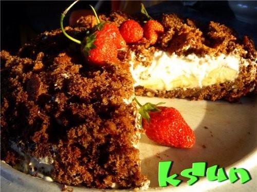 "торт ""Горка крота"" рецепт любезно предоставлен Наташей Luna 07( слова ее же) 70 гр"