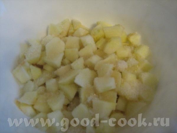 БАСКСКИЙ ПИРОГ С ЯБЛОКАМИ Тесто: 125 г сливочного масла, 160 г сахра, 1 яйцо, 1 желток, 2 ст - 3