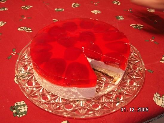 Торт-мусс тесто: 3 яйца 0,5 ст