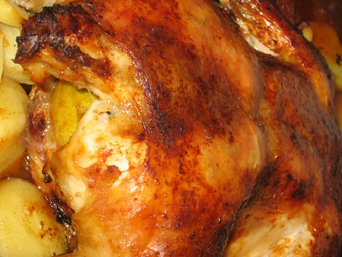 И это наш пятничный ужин: Вот тут видно так сказать весь куриный интим с лимоном Все рецепты ЗДЕСЬ - 2