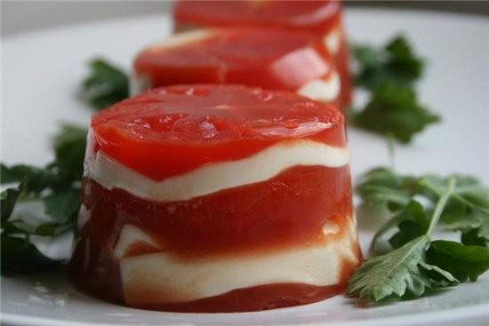 закуска из сыра и помидоров из журнала вкусные рецепты 3 шт