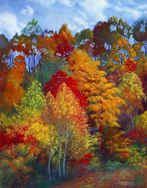 Очень здорово Ты работы оформила- умница Красота, oсень Rachel Clearfield Кузьмичёв Лев Александро... - 2