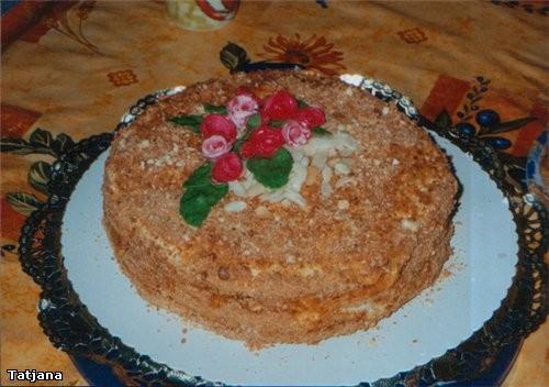 Ирина, а вот и я со своими тортами этот я делала на свадьбу знакомым, обыкновенныи бисквит с кремом... - 2