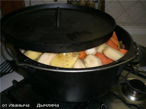 И вот подходит очередь картофеля - 2