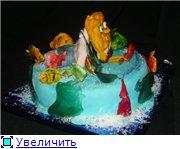 торт губка Боб торт планета - 2