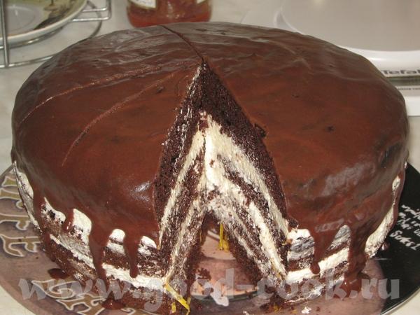 """А вот и мой """"Шоколад на кипятке"""": По сравнению с тем,что я пекла в духовке:небо и земля"""