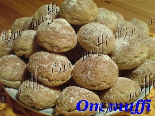 печенье с ореховой начинкой Ничего, что фото не очень, главное, что печенки очень аппетитные