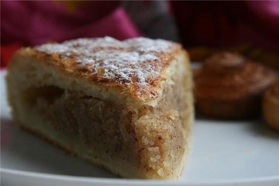 """этот пирог от Мишель слова автора,фото мои Пирог """"Pithiviers"""" Для слоёного теста: 350 г муки 350 г... - 2"""