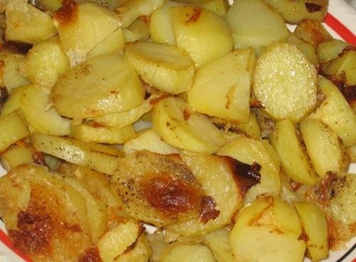 Картошка запеченая в молоке