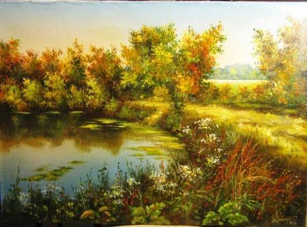 новые картины художника покажу я его уже вам показывала он добавил недавно на продажу Ковальчук (Ют... - 2