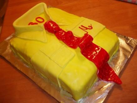 Тортик для мужа делала опираясь на рецепт из маминых записей,с кучей моей отсебятины,как например о... - 2