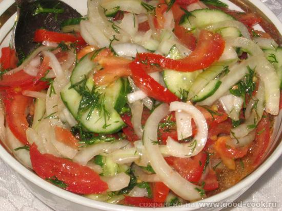 помидорный салат
