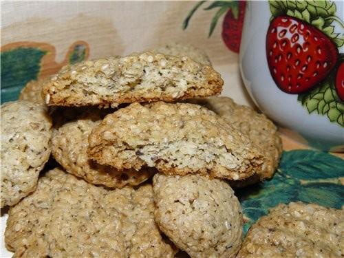 Сладкое печенье с кунжутом - 2
