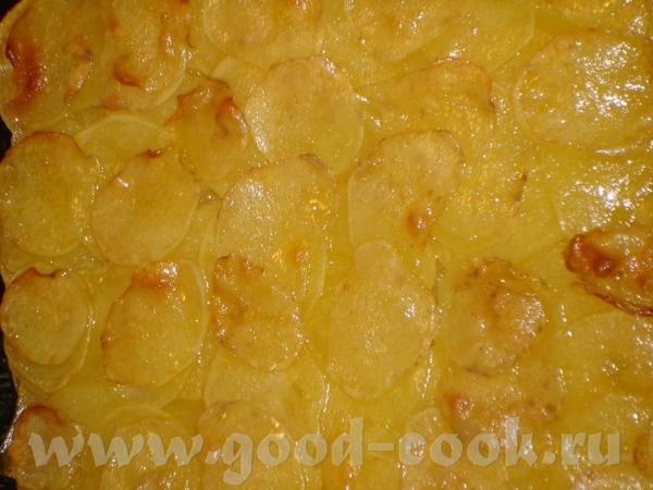 Pommes anna – картофельный гарнир Это довольно сытный гарнир - 3