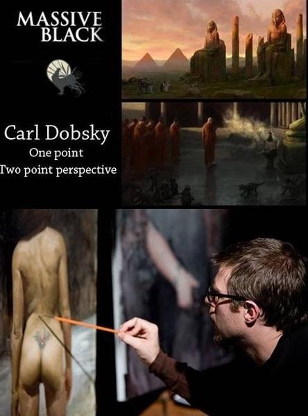 Carl Dobsky - One point & Two point perspective Carl Dobsky, сотрудник студии Massive Black, объясн...