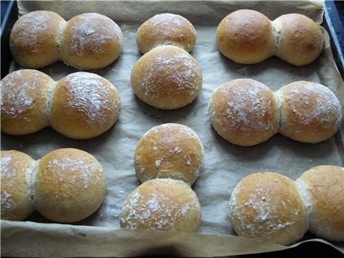 Вкусные, мягкие, быстрые в приготовлении булочки - 2