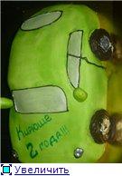 торт зеленая машинка торт солнышко с карамельными лучиками торт с юбилеем - 2