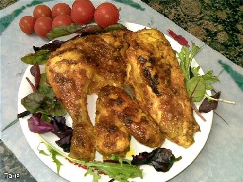 Мясо курицы с овощами в пикантном соусе Румяная курочка Курочка с картошкой Куриные грудка и печень... - 2