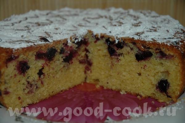 Пирог с чёрной смородиной и кунжутом Ссылку на рецепт от АнжеликаГ с Карина-форум я дала в названии...