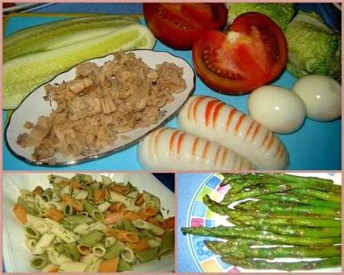 """Салат """"Прохлада"""" Самый подходящий обед в жаркую (как у нас сейчас +42) погоду - 2"""