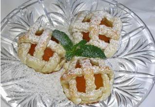 Абрикосовое пирожное oт Мишель