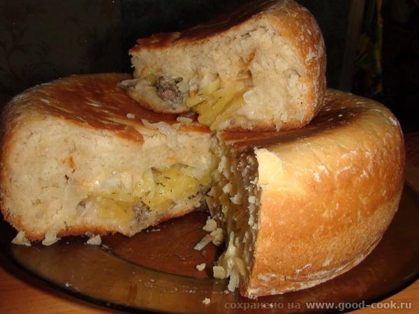 пирог с картофелем - 2