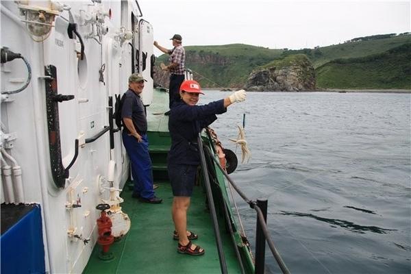 Еще мы поймали морскую звезду - 2