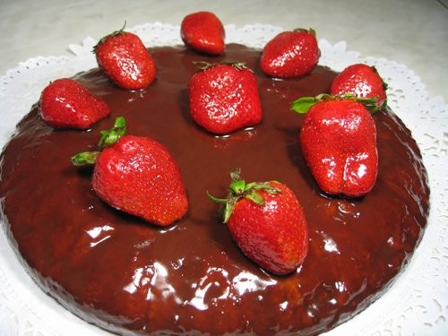 Танечка, спасибо ОГРОМНОЕ, за торт лесная нимфа Он у меня низковатый получился, пекла в форме 28 Се...