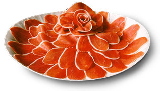 Мидии с Прошутто и пикантной Итальянской колбаской Прошутто (Prosciutto) -сыровяленая ветчина,для... - 2