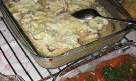 Филе индейки с шампиньонами в сметанно-горчичном соусе Филе индейки порезать кусочками 1-1,5 см тол... - 5