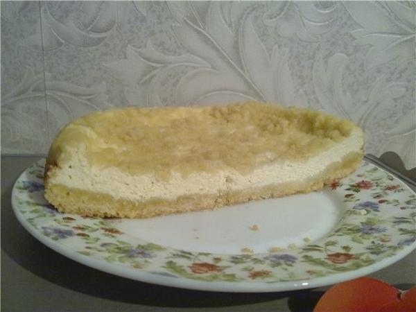 , как раз позавчера делала по похожему рецепту Творожный пирог