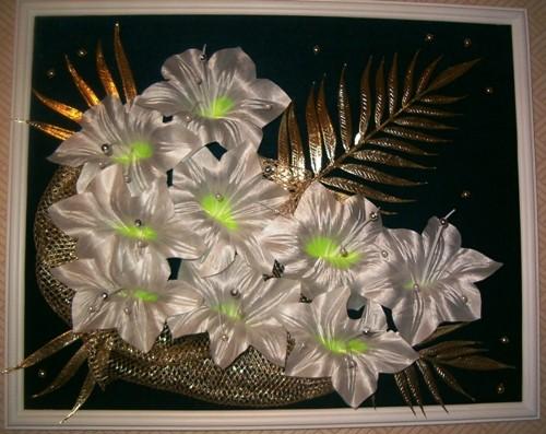 А это два букетика в цветочных горшочках - 3
