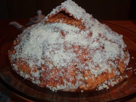 """,спасибо за Похожий тортик ,унас он поселился под названием """"в гостях у сказки:))"""