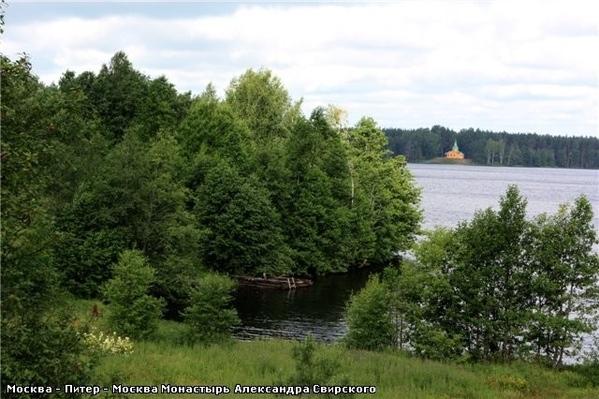 А вот такое там небо … Рощинское озеро Развалины монастырской пекарни, которая, кстати, снабжала хл... - 4